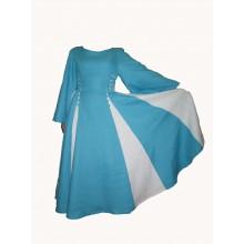 Платье со вставками со шнуровкой. Цвета ткани под заказ