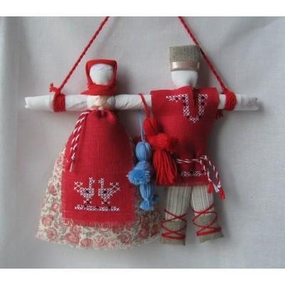 Мастер класс свадебных кукол неразлучников