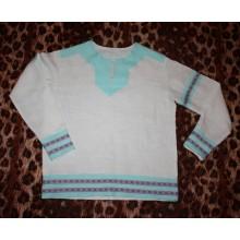 Рубаха мужская народная из льна, на заказ