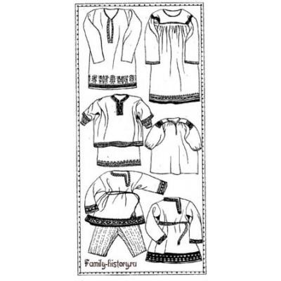 Крой женской рубахи: кержаки и поляки