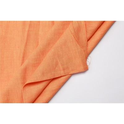 18-3 Оранжевый яркий (тыквенный) лён
