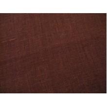 2-23 Тёмно-коричневый лён. Бельевая. 1,5 м ширина. 180 плотность.