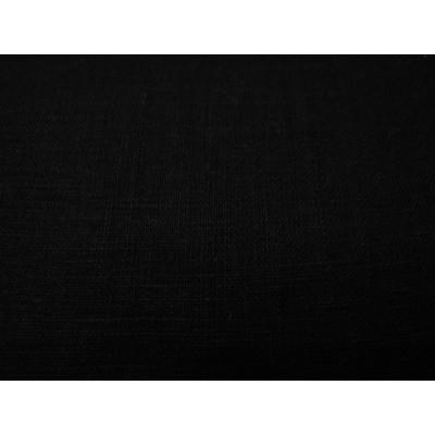 415 Лён чёрный костюмный