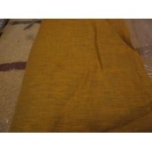15-c2  Лён плательный оранжевый в рябь