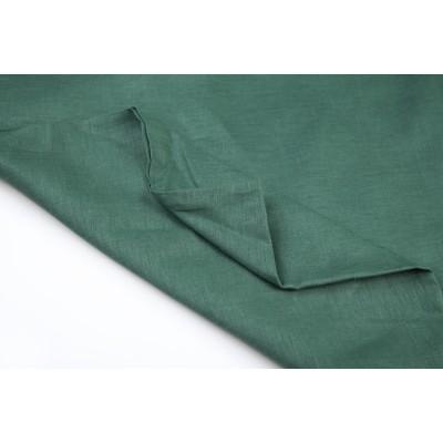 80 Темно-зеленый лён