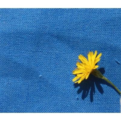 3-30 Синий костюмный лён