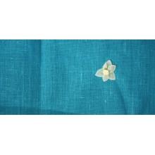 20-7 Бирюзовый лён. Скатертная ткань