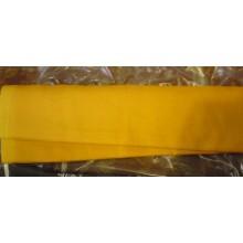 9-7 Оранжево-желтый лён. Платьевая ткань