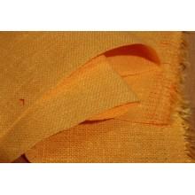 13-8 Рогожка желтая. Декоративная ткань
