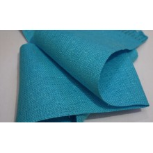 7-8 Рогожка голубая. Декоративная ткань