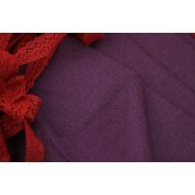 21-3 Фиолетовый лён. Платьевая ткань.