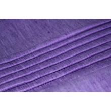 19-19 Фиолетовый жаккард лён 1,6 м ширина. Россия