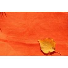 4СК-1 Ярко оранжевый лён. Скатертная ткань