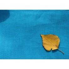 34-5 Костюмная ткань. Темно-голубой лён.