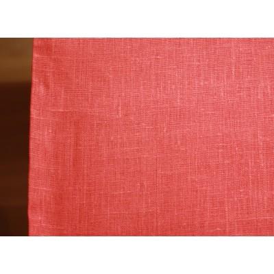 11-5 Скатертная ткань. Коралловый лён