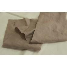 10ПЛ-2 (27-11) Бледно-коричневый лён. Платьевая ткань