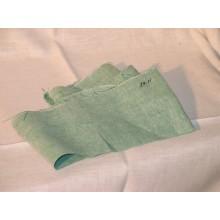 29-11 Зеленый лён в рябь. Бельевая ткань