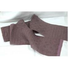 5-12 (9ДК-3) Лилово-Пюсовый лён. Декоративная ткань.