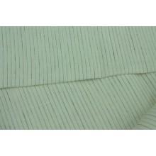 17-18 Лоскутный метр. Белая с полосками. Сорочечная ткань.