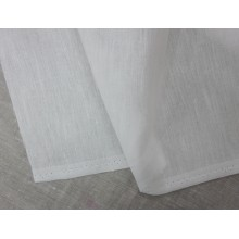 12-19 Белый лён 1,5 м ширина. Блузочно-сорочечный