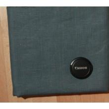 Л11 Костюмная ткань. Серо-зеленый лён