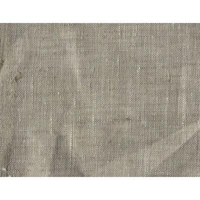 08с87 Небеленый серый лён