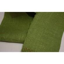 11-8 Рогожка зеленая. Декоративная ткань