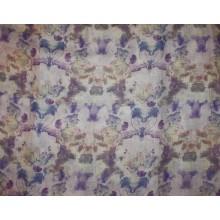 13-3 Сине-фиолетовый лён в цветочек
