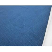 4-11 Тёмно-синий лён. Костюмная ткань. 1,5 метра ширина