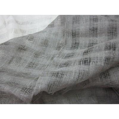 2-7 Небелёная сетка с квадратами. Декоративная ткань. 1,5 м ширина