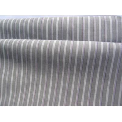 11Р серая с полоской, блузочная ткань, хлопок, эластан 1,5 м ширина (распродажа)
