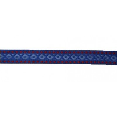2136 Тесьма синяя двусторонняя. Состав п/э Ширина 18 мм